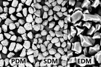 Diamantpulver EDM, 8-12 µm, 100ct. ☆☆